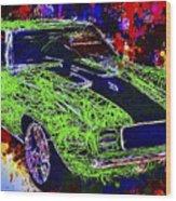 1969 Camaro Z28 Wood Print