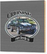 1969 Chevelle Ss Nuckolls Wood Print