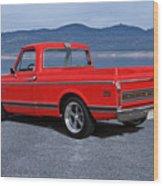 1969 Chevrolet Cst10 Pickup II Wood Print