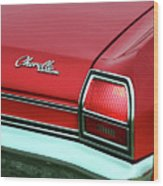1969 Chevy Chevelle Ss 396 Wood Print