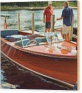 1969 Chris-craft Wood Print