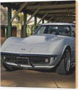 1969 Corvette Lt1 Coupe II Wood Print