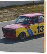1969 Datsun 510 Wood Print