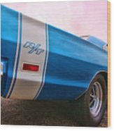 1969 Dodge Coronet Rt Wood Print