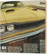 1969 Dodge Coronet Super Bee Wood Print