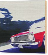 1969 Ford Falcon Futura Wood Print