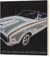 1969 Hurst Oldsmobile 455 Ho Electric Wood Print