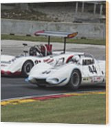1969 Lola T163 And 1965 Wolverine Road America Wood Print