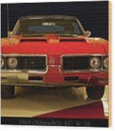 1969 Oldsmobile 442 W-30 Wood Print