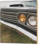 1969 Plymouth Road Runner 440-6 Wood Print