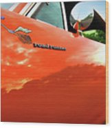 1969 Plymouth Road Runner 440 Roadrunner Wood Print