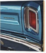 1969 Plymouth Road Runner Wood Print