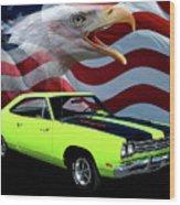 1969 Plymouth Road Runner Tribute Wood Print