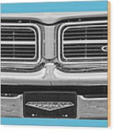 1969 Pontiac Gto  Wood Print