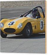 Vintage Racer Wood Print