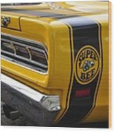 1969 Super Bee Wood Print