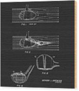 1969 Wood Golf Club Patent Wood Print
