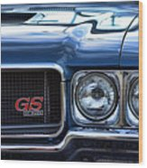 1970 Buick Gs 455 Wood Print by Gordon Dean II