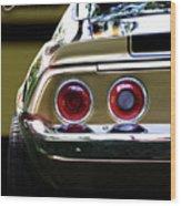1970 Camaro Fat Ass Wood Print