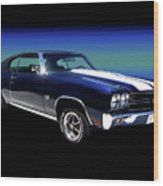 1970 Chevelle Ss Wood Print