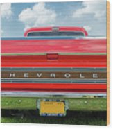 1970 Chevrolet Cs-10 Pickup Wood Print