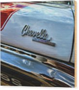 1970 Chevy Chevelle Ss 396 Ss396 Wood Print