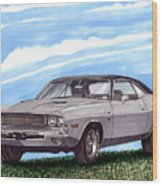 1970 Dodge Challenger Wood Print