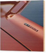 1970 Dodge Challenger Rt 383 Magnum Hood Wood Print