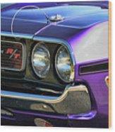 1970 Dodge Challenger Rt 440 Magnum Wood Print