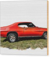 1970 Fake Gto_lemans Wood Print