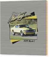 1970 Mach 1 Fellers Wood Print