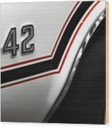 1970 Olds 442 Indy 500 Pace Car Wood Print