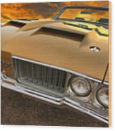 1970 Oldsmobile 442 W-30 Wood Print