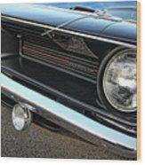 1970 Plymouth Barracuda 'cuda 440 Wood Print