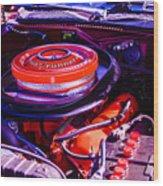 1970 Plymouth Road Runner Wood Print