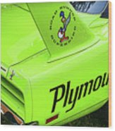 1970 Plymouth Superbird Wood Print