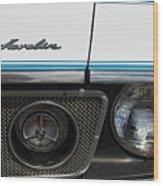 1971 Amc Javelin II Wood Print