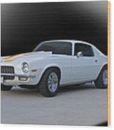 1971 Chevrolet Camaro I Wood Print