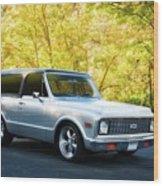 1971 Chevrolet Tahoe Blazer I Wood Print