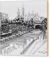 1971 Rideau Canal Ottawa Wood Print