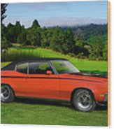 1972 Buick Gsx 455 Stage 1 Wood Print