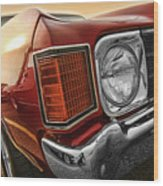 1972 Chevrolet Chevelle Ss  Wood Print