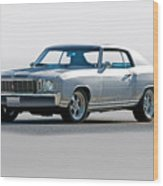1972 Chevrolet Monte Carlo Wood Print