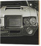 1972 Olds 442 Wood Print