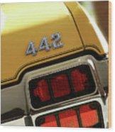 1972 Oldsmobile Cutlass 4-4-2 Wood Print