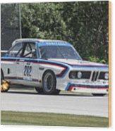 1973 Bmw Csl At Road America Wood Print