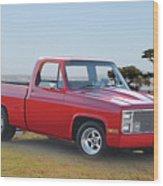 1973 Chevrolet C10 Fleetside Pickup I Wood Print