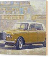 1973 Rolls-royce Silver Shadow Wood Print