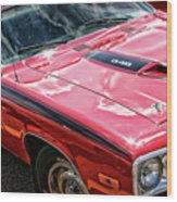 1974 Plymouth Road Runner 340 Wood Print