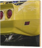 1976 Corvette Stingray Taillights Wood Print